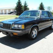 Chrysler Lebaron Turbo K Car Rare Coupe Clean
