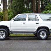 1993 Toyota 4Runner SR5 V6 4X4 5-SPEED MANUAL Automatic 4