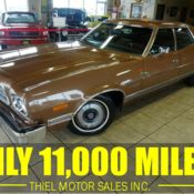 1973 Ford Gran Torino 84369 Miles Gold