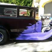 Blown Ford Model A Street Rod 5 Window for sale: photos