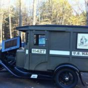 1929 Model A Ford Mail Truck for sale photos technical