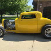 1932 Ford Steel 5 Window Coupe Not Chopped Nostalgia