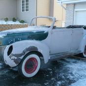 1940 mercury convertible sedan for sale photos technical for 1940 mercury 4 door convertible