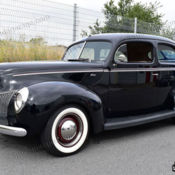 1941 FORD DELUXE COUPE HOPPED UP FLATHEAD GASSER HOT ROD NOT