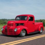 Dodge Half Ton Street Rod Pickup All Steel Body Custom Bed Chevy V