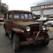 1952 Willys 2 door wagon for sale: photos, technical specifications