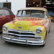 1950 plymouth deluxe blue 4 door sedan for sale photos technical 1950 Plymouth 4 Door Sedan 1950 plymouth deluxe 2 door sedan custom paint with flames decals