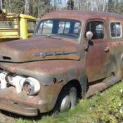 92c74db312 1951 Ford F1 Panel Truck Complete Flat Head V8 Patina Rat Rod F1 F100 No  Reserve