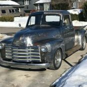 Rat Rod Hot Rod Texaco Chevy Truck 1952 Classic 3100 For