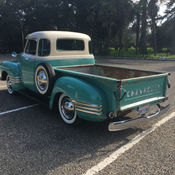 Chevrolet Pickup W Rare Hydramaticunison Seatcorrect Visor Ect