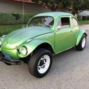 1956 Volkswagen Custom Beetle Supercharged, Chopped Oval Window