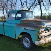1959 Chevy Apache 3600 Original Napco 4 X 4 For Sale