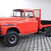 1959 Chevy Apache 3600 Original Napco 4 X 4 For Sale Photos Technical Specifications Description
