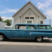 1958 Chevy Brookwood Wagon Very Original Survivor Ca Black Plate