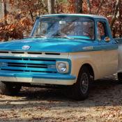 1962 factory 4x4 ford f250 stepside pickup truck 292 y. Black Bedroom Furniture Sets. Home Design Ideas