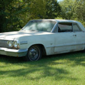 1961 Impala Barn Find 4 Door Hardtop Lowered Great Cruiser
