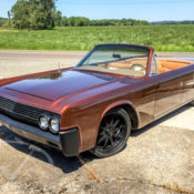 1964 lincoln continental convertible restored air ride mobsteel for sale p. Black Bedroom Furniture Sets. Home Design Ideas