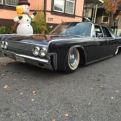1968 lincoln continental bagged 4link mobsteel ridetech air ride slammed for. Black Bedroom Furniture Sets. Home Design Ideas