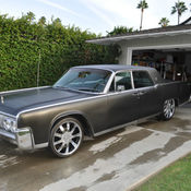 1966 lincoln continental suicide doors black exterior black leather interior. Black Bedroom Furniture Sets. Home Design Ideas