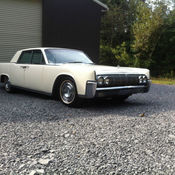 1964 lincoln continental sedan presidential edition daily. Black Bedroom Furniture Sets. Home Design Ideas