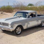 1965 ford falcon ranchero pro touring 348 stroker tremac 5 speed nitrous 4wdb