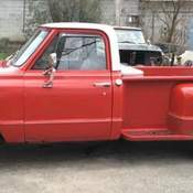 1967 gmc pickup long bed truck 1967 c2500 for sale. Black Bedroom Furniture Sets. Home Design Ideas