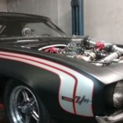 1969 Chevrolet Camaro Twin Turbo for sale: photos, technical