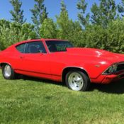 1969 Chevelle Pro Street for sale: photos, technical specifications