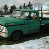 1969 Ford F100 Campers Special parts truck for sale: photos