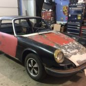 1969 Porsche 911T Rare Targa All Original for sale: photos