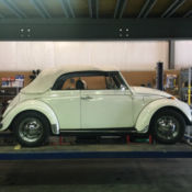 1972 Volkswagen Super Beetle Sedan Yellow Automatic Stick Shift For Sale Photos Technical