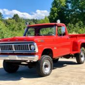 1961 ford f100 4x4 stepside long bed for sale photos, technical