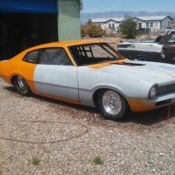drag car with title for sale photos technical specifications 1969 Ford Maverick Grabber 1970 ford maverick 1 5 8 tube chassis pro street drag roller with vin and title