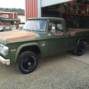 1969 dodge power wagon w100 sweptline truck cool rare ...