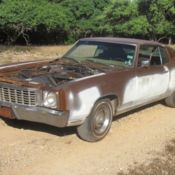 71 Chevrolet Monte Carlo project or parts car for sale