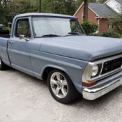 1975 Ford F100 Crown Vic Swap for sale: photos, technical