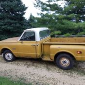 1985 GMC pickup truck stepside for sale: photos, technical