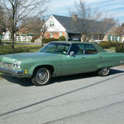 1973 Oldsmobile 98 Regency With 455 Cubic Inch Rocket V8