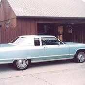 1975 Lincoln Continental Town Car 4 Door Sedan For Sale