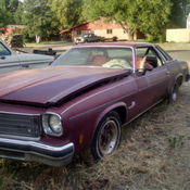 74 oldsmobile cutlass salon brown beige only 2 owners for for 1975 oldsmobile cutlass salon for sale