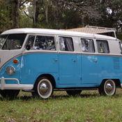 BARN FIND 1958 Volkswagen VW Bus Panel Van Microbus split ...