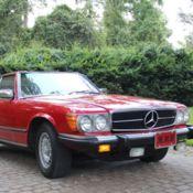 1986 Mercedes Benz 560SL with rebuilt engine and transmission for