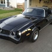 1978 chevrolet camaro z28 t top manual built custom. Black Bedroom Furniture Sets. Home Design Ideas