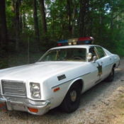 1978 Dodge Monaco Rosco Enos Dukes Of Hazzard Police Cop Car Replica Signed