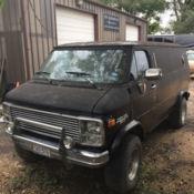 chevy g30 pathfinder conversion 4x4 van for sale: photos