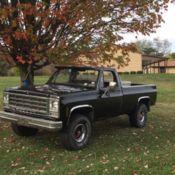 K K Chevy Pickup Square Body Ton Truck Scottsdale - Square body chevy for sale