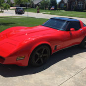1980 C3 Chevrolet Corvette RestoMod Project For Sale