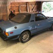 1980s lancia beta zagato car ready for restoration or parts for sale