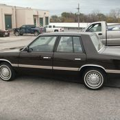 1988 Plymouth Reliant K LE 45k Miles One Family Owner NO ... |Plymouth Reliant White
