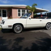 Classic 1985 chrysler le baron 65 000 original miles for Garage peugeot le baron brunoy